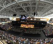 Commencement at SECU Arena