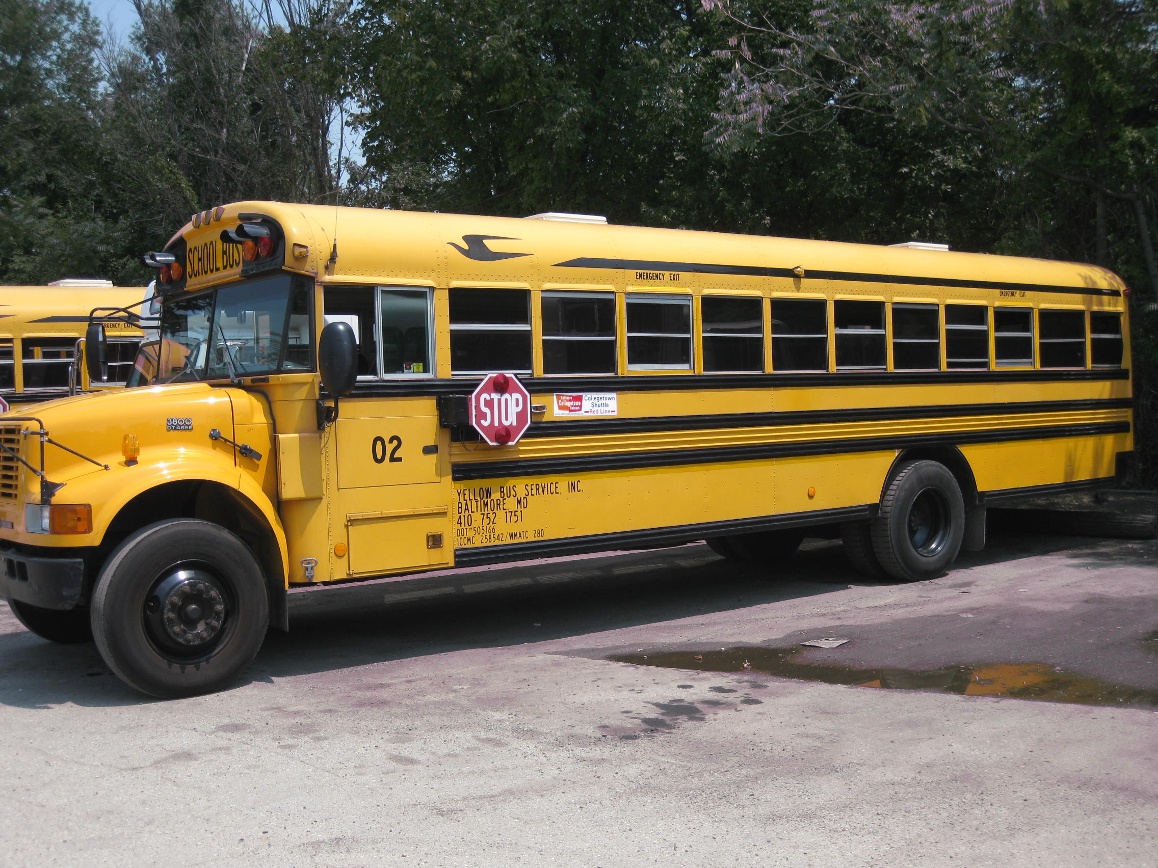 Yellow Collegetown Shuttle