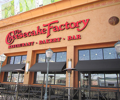 Cheesecake Factory Towson