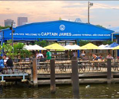 Captain James Landing- Best of Baltimore