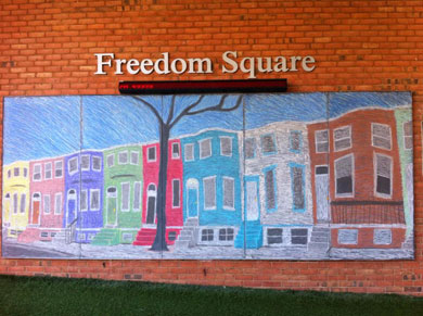 Freedom Square Towson University