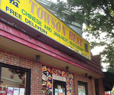 Towson Best Chinese and Sushi