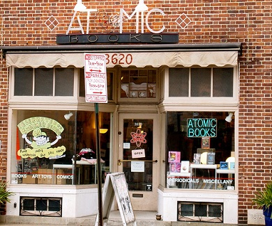 Atomic Books storefront