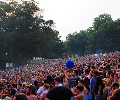 Merriweather Post Pavilion Best Concert Venue