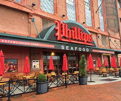 Phillips Seafood Inner Harbor
